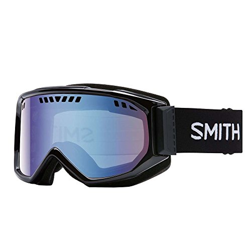 Smith Optics Scope Airflow Series Winter Sport Snowmobile Goggles Eyewear - White/Red SOL-X / One Size