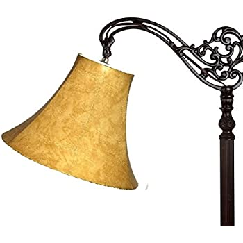 Upgradelights lamp shade 10 inch leatherette down bridge lamp upgradelights lamp shade 10 inch leatherette down bridge lamp 5x10x8 aloadofball Image collections