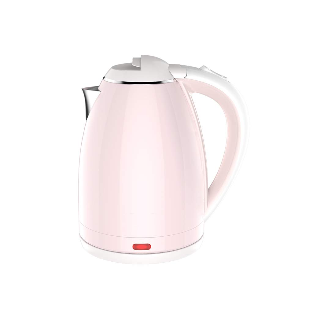 Kettles Electric Kettle Automatic Power Off Large Capacity 1800W Anti-scalding Insulation Integrated Stainless Steel 1.5L Pink