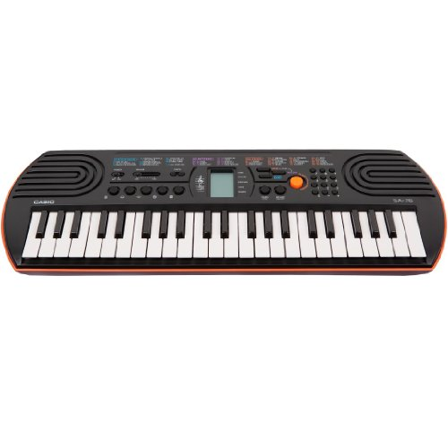 Casio SA-76 44 Key Mini Keyboard Orange