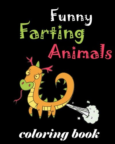 Funny Farting Animals Coloring Book Farting Animals Coloring Book