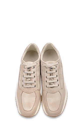 Hogan Sneakers Donna HXW00N00E30B0TM024 Pelle Beige