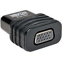Tripp Lite HDMI to VGA Converter Adapter for Chromebook Laptop Desktop PC, 1920x1080/1080p, M/F (P131-000)