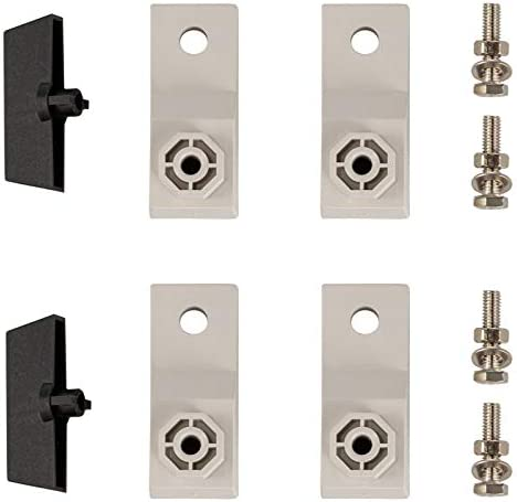 """41Ung3NufXL. AC VEVOR Fiberglass Enclosure 11.8 x 9.8 x 5.5"""" Electrical Enclosure Box NEMA 3X Electronic Equipment Enclosure Box IP65 Weatherproof Wall-Mounted Electrical Enclosure With Hinges & Quarter-Turn Latches     11.8 x 9.8 x 5.5"""" Fiberglass Electrical Enclosure Box The electrical box is molded from durable fiberglass reinforced polyester (FRP). With a sophisticated lock core, high-strength hinge, sealing rubber strip, and IP65 protection level to well-protect the internal electrical in harsh environments. It is ideal for protecting equipment from harsh environments and tampering. It is widely used for indoor and outdoor applications to protect circuits from liquids and corrosion, such as electricity, construction, hotel, and other industries.key Features Fiberglass Reinforced Polyester The electrical box features fiberglass reinforced polyester construction with high toughness, resistance to pressure, corrosion, and rust. The enclosure is impervious to dents. Thickened Dust Lock The inner lock core uses metal to prevent damage caused by excessive force. The durable and reliable cabinet door lock is applied for a convenient opening with longer service life. High Strength Hinge The electrical box adopts reinforced hinges, which will not be damaged if it is repeatedly opened and closed, and ensure that the box door is not easily broken by extrusion. Rubber Sealing Strip The sealing rubber strip is close to the box door with strong sealing performance to prevent dust and raindrops from dripping into the box and causing electricity leakage. IP 65 & Protective The IP65 waterproof design effectively blocks splashing water, rain, dust, snow, oil into the electrical enclosure and causing damage. It keeps your equipment well-protected in harsh environments."""