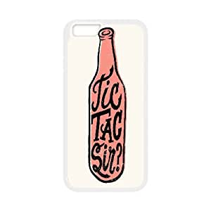 Yearinspace Typography iPhone 6 Plus Cases Typography Tic Tac Sir Cheap For Girls, Iphone 6 Plus Cases For Girls Cheap, [White]
