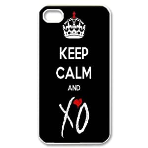 Unique Phone Case Design 20PBR&B,The Weeknd Series- For Iphone 4 4S case cover
