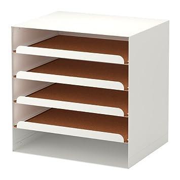Ikea KVISSLE - Bandeja Carta, Blanco