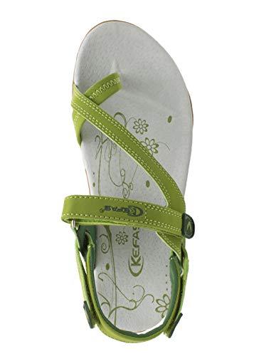 Damen Grün Damen Grün Sandalen Kefas Kefas Sandalen Kefas 1pWSnta