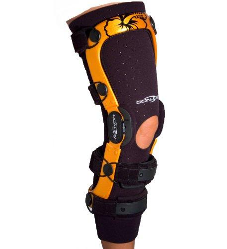 DonJoy Knee Brace Undersleeve, Open Patella, Neoprene, Small