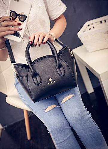 Wangkk qualité sac main sacs de dames Pu un bandoulière chat à à messager sac grand grand cuir haute main en sac à x6xr1