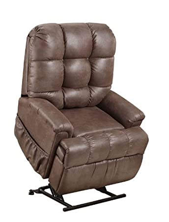 Amazon.com: MED Lift 5555 Full Sleeper Lift Chair (Stampede ...