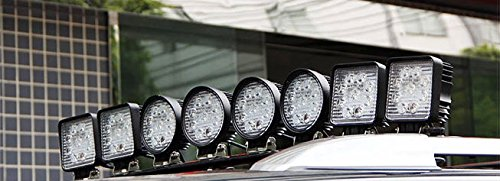 GZYF 8PCS 27W LED Work Light Lamp Bar Round Flood Beam Offroad For Truck Car Boat SUV 4WD UTE ATV 4X4 12V 24V by GZYF (Image #9)