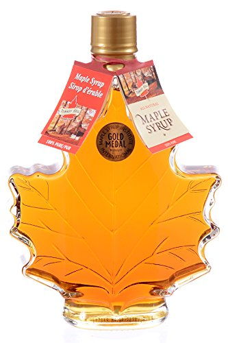 Turkey Hill Grade A Pure Maple Syrup 750ML Maple Leaf Bottle (Maple Pure Syrup Can)