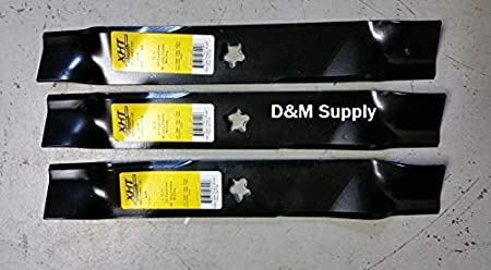 "Set of 3 heavy duty Husqvarna 61/"" mower blades 539113312 EZ series 539 11 33-12"