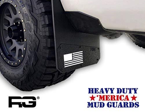 Mud Flap Flag American (Rek Gen 'Merica Mud Flaps (White))