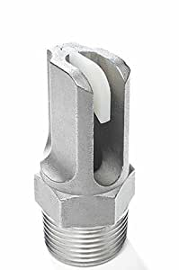 Boom Buster # 375-R Boomless Roadside / Right-of-Way Spray Nozzle - Stainless Steel