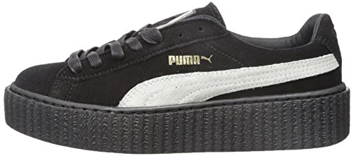 Rihanna Rihanna Creepers Black Suede Puma raso Aa8xwtTq