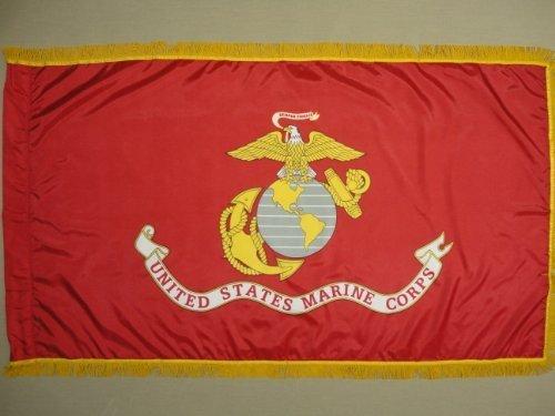 U.S. Marine Corps USMC Color Guard Parade Indoor Outdoor Nyl