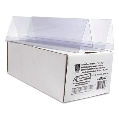 Tent Card Holders, 2 1/2