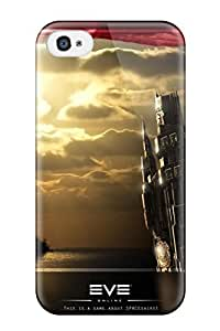 Fashionable Style Case Cover Skin For Iphone 4/4s- Eve Online