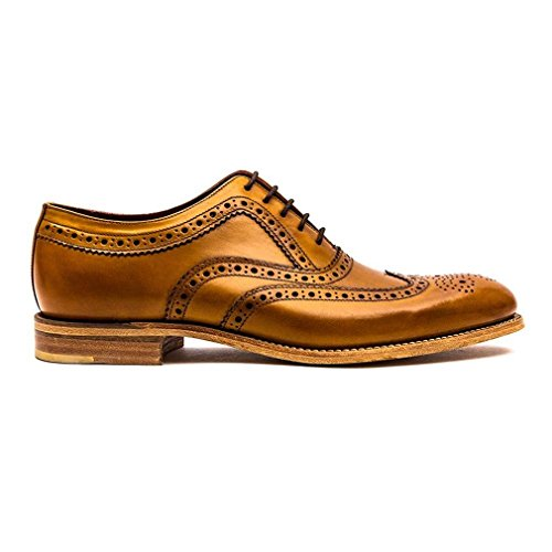 Fearnley Mens Formale Lace Up Schuhe Tan Gepolijste