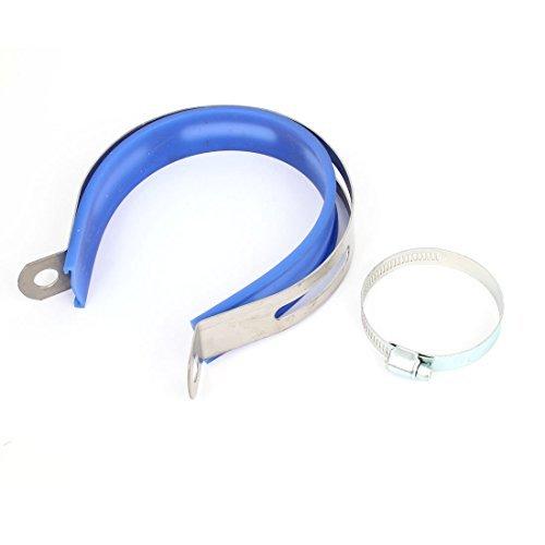 tan tambutso Clip Fastener Support w 33-57mm Clamp Hose ()