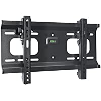 Monoprice Stable Series Ultra-Slim Tilt TV Wall Mount Bracket - For TVs 32in to 55in Max Weight 165lbs VESA Patterns Up to 400x200 UL Certified
