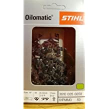"61PMM3 50 GENUINE OEM STIHL OILOMATIC CHAIN SAW CHAIN 14"" MS170 MS171 MS180 MS181"