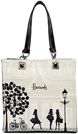 harrods 6252084 - Small Knightsbridge Storefront Shopper Bag