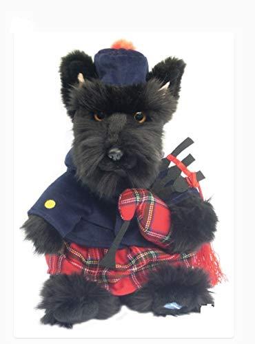 Faithful Friends Plush Scottish Terrier Tartan Piper
