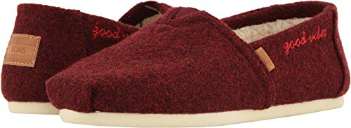 (TOMS Women's Alpargata Burnt Henna/Good Vibes 11 B US)