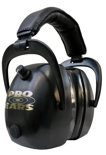 Pro Ears Gold II 30 - PEG2RMB - Electronic Hearing Protection & Amplification - Range Earmuff - NRR 30 - Hearing Protector Ear Muffs, Black