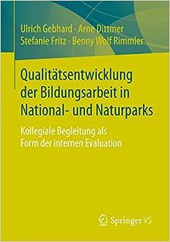 Book Qualitätsentwicklung der Bildungsarbeit in National- und Naturparks: Kollegiale Begleitung als Form der internen Evaluation