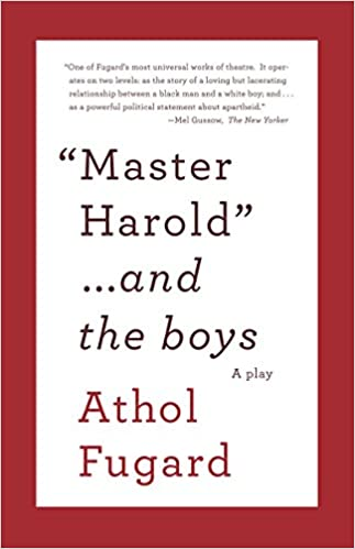 Amazon com: MASTER HAROLD AND THE BOYS: A Play (Vintage