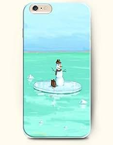 SevenArc Apple iPhone 6 Plus case 5.5 inches - Snowman Lost In The Green Sea