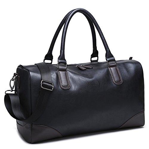 Stylish Leather Handbag Weekend Overnight