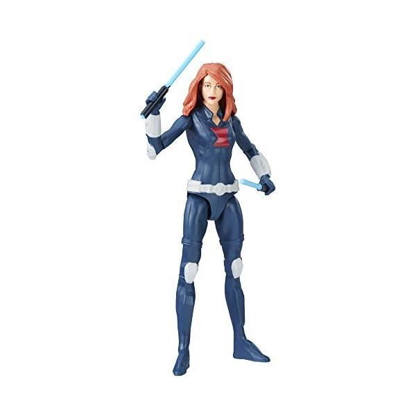 41Unn5Adj4L Marvel Avengers Black Widow 6-in Basic Action Figure