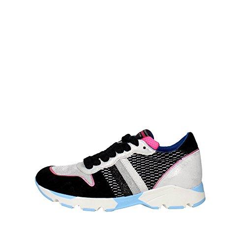 Pe16san15 Low Women Sneakers Serafini Grey black dzw4qd