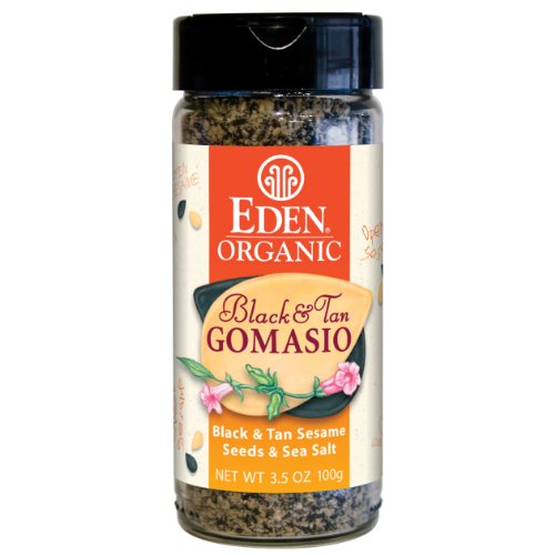Eden Organic Black & Tan Gomasio, 3.5-Ounce Jars (Pack of 12)