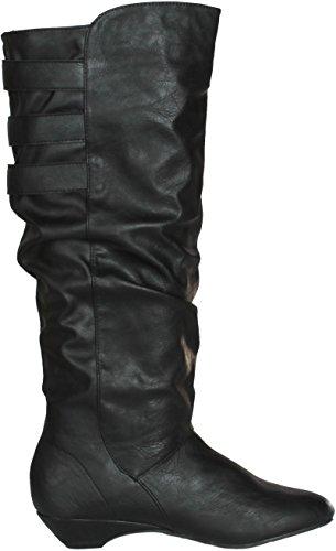 Madden Girl Womens Zulah Fashion Boots Black cCaKoAvB5I