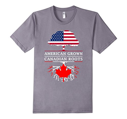 mens-american-grown-with-canadian-roots-t-shirt-canada-shirt-large-slate