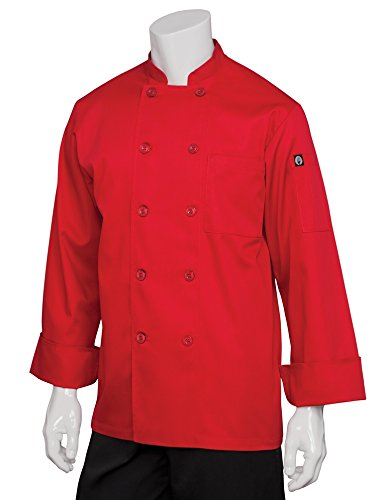 Chef Works Men's Nantes Chef Coat (REPC) by Chef Works