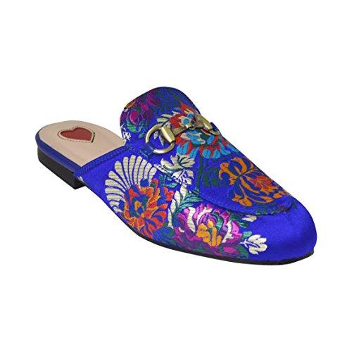 Ciara - Sandalias de vestir para mujer Azul