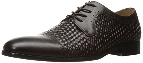 Steve Madden Mens Creamer Oxford In Pelle Marrone