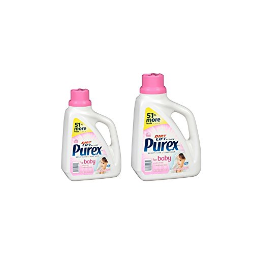 Purex Dirt Lift Action Liquid Laundry Detergent for Baby, 75