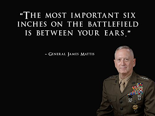 General James Mattis Poster Usmc