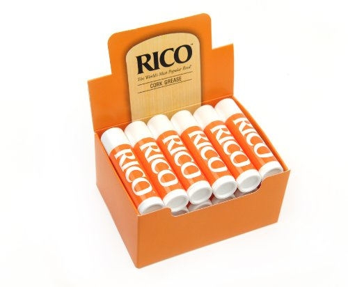 Rico Premium Woodwind Cork Grease, Pack of 12