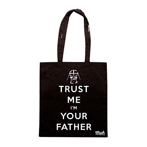 Borsa Trust Me IM Your Father Darth Veder - Nera - Film by Mush Dress Your Style