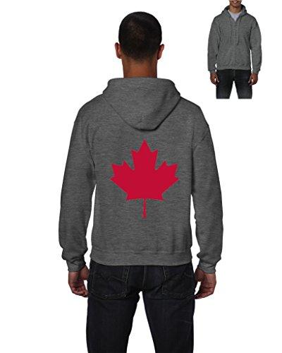 (NIB Canada Hoodie Canada Maple Leaf Full-Zip Men's)