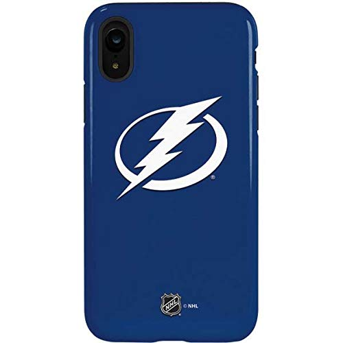 (Skinit Tampa Bay Lightning Logo iPhone XR Pro Case - Officially Licensed NHL Phone Case Pro, Scratch Resistant iPhone XR Cover)